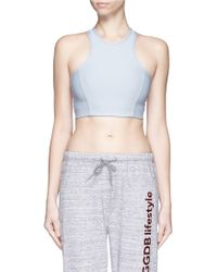 Outdoor Voices - 'athena' Cropped Top - Lyst