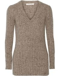 Marc Jacobs Ribbed Cashmere Sweater - Lyst