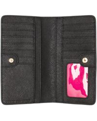 Juicy Couture - Continental Zip Wallet in Black - Lyst