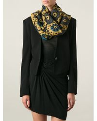 Burberry Prorsum Floral Print Scarf - Lyst