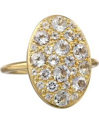 Elizabeth And James Gold Constance Ring - Lyst