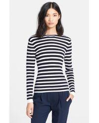 Rag & Bone 'Linda' Cowl Back Stripe Sweater - Lyst