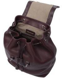 Mackage - Tanner Merlot Backpack Bag - Lyst