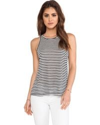 Enza Costa Sheath Tank - Lyst