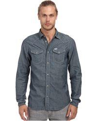 Diesel Blue New-Sonora Shirt - Lyst