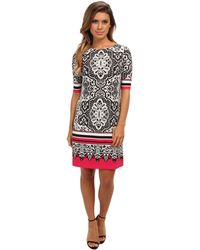 Eliza J Printed T Body Dress - Lyst