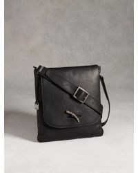 John Varvatos Metal Toggle Crossbody - Lyst