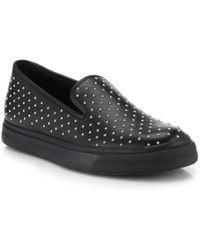 Giuseppe Zanotti Studded Slip-On Sneakers - Lyst