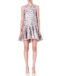 Giambattista Valli Sleeveless Silk-blend Dress - Lyst