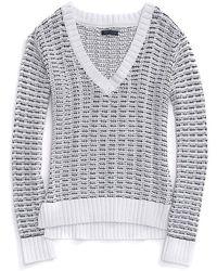 Tommy Hilfiger Chunky Stitch Summer Sweater - Lyst