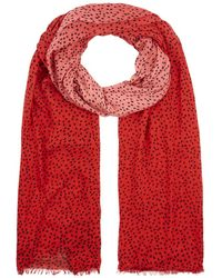 Hobbs - Ombre Spot Scarf - Lyst