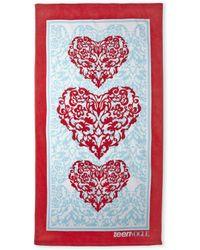 Teen Vogue | Love Hearts Beach Towel | Lyst
