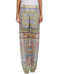 Just Cavalli Casual Trouser - Lyst