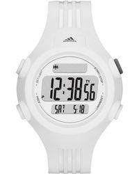 adidas Originals - Performance Unisex Digital Questra White Polyurethane Strap Watch 42mm Adp6087 - Lyst