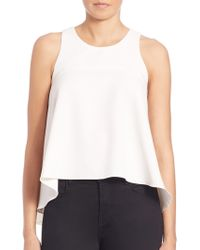 Milly | Trapeze Top | Lyst