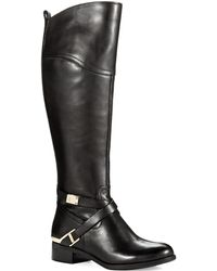 Ivanka Trump Orabell Riding Boots - Lyst
