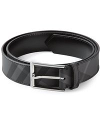 Burberry House Check Belt - Lyst