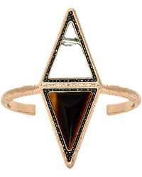 House Of Harlow 1960 Isosceles Reflection Cuff pink - Lyst