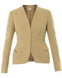 Alexander McQueen Tailored Cotton-Twill Jacket - Lyst
