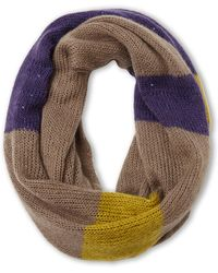 Nine West | Sequined Color Block Infinity Scarf | Lyst
