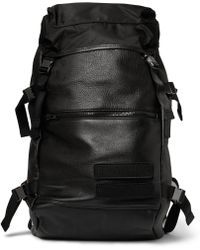 Tim Coppens - Leather And Nylon Backpack - Lyst