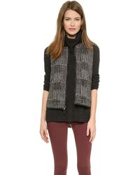 Madewell Reversible Quilted Puffer Vest  True Black - Lyst