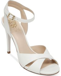 Vince Camuto Soliss High Heel Sandals - Lyst