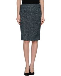 Gucci Knee Length Skirt - Lyst