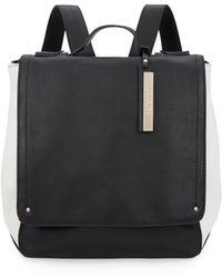 Kenneth Cole Reaction Faux Leather Backpack black - Lyst