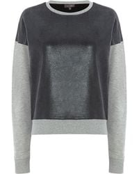 Pied A Terre Coated Sweater - Lyst