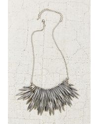 Urban Outfitters Burning Rays Statement Necklace - Lyst