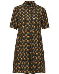 Topshop Marigold Shirt Dress By Boutique - Lyst