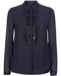 Armani Jeans Beadembellished Shirt - Lyst