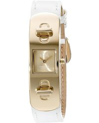 Coach Swagger Leather Strap Watch - Lyst