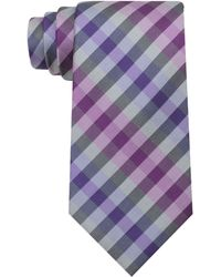 Kenneth Cole Reaction Caleb Plaid Tie - Lyst