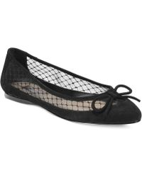 Inc International Concepts Women'S Corsica3 Mesh Ballet Flats - Lyst