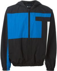 T By Alexander Wang - Logo Print Sports Jacket - Lyst