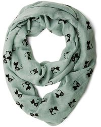 Ana Accessories Inc Cat Person Scarf - Lyst