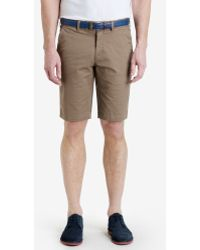 Ted Baker Chino Shorts - Lyst