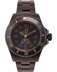 Bamford Watch Department Bamford Monogrammable Deepsea Truehunter black - Lyst