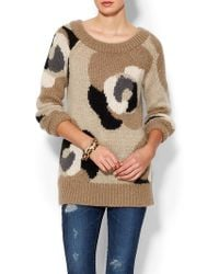 Kate Spade Deco Rose Mohair Sweater - Lyst