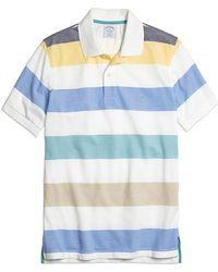 Brooks Brothers Slim Fit Wide Multibar Stripe Polo Shirt - Lyst