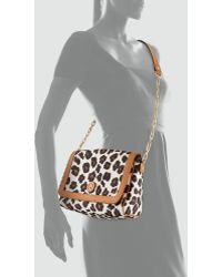 Tory Burch Kerrington Leopardprint Crossbody Bag - Lyst