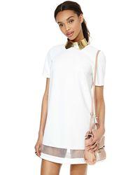 Nasty Gal White Arielle Dress - Lyst