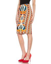 Peter Pilotto Blue H Skirt - Lyst