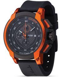 Ritmo Mundo - Quantum I Stainless Steel And Orange Aluminum Watch, 50mm - Lyst