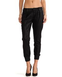 7 For All Mankind Drapey Pant W Smocked Hem - Lyst