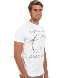 Diesel White Thita Tshirt - Lyst