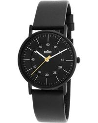 Braun - Women's Classic Black Genuine Leather And Dial - Lyst