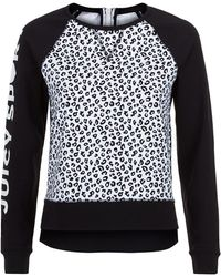 Juicy Couture Cheetah Sweater black - Lyst